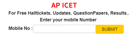 Andhra Pradesh ICET Notification 2019