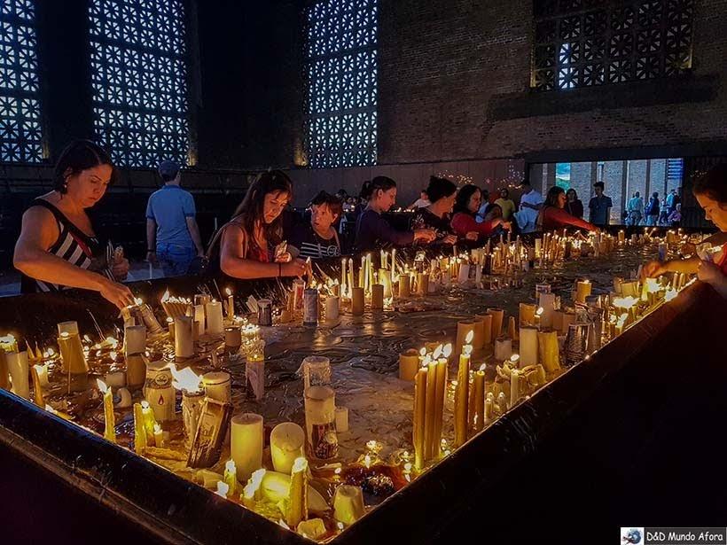 Capela das Velas - Santuário Nacional de Aparecida