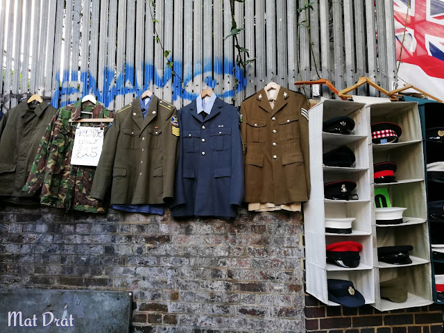 Portobello Road Market Army Uniform
