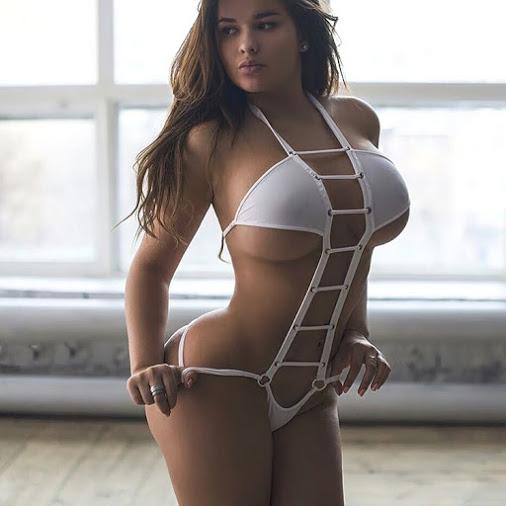 Hot girls Anastasia Kvitko sexy more than Kim Kardashian