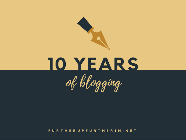 10 Years of Blogging + A Giveaway