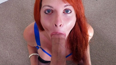 TSPOV – Super Busty Redhead Gives Great Head – Liberty Harkness