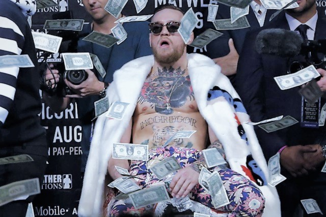 Conor McGregor: I wanna be remembered a motherfucker that shows up