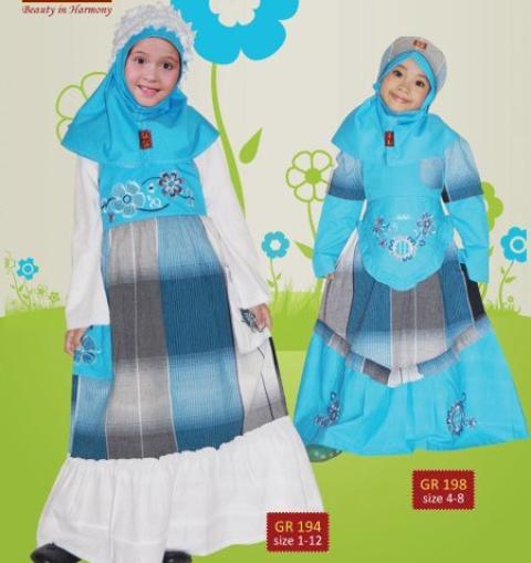foto baju muslim anak keke