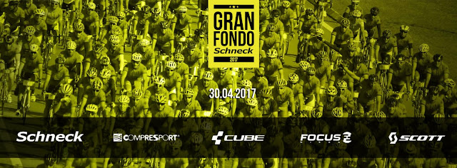 Ciclismo - 140k y 85k Gran fondo Schneck - Marcha cicloturista semi competitiva (30/abr/2017)