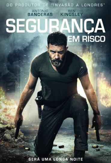 Capa do Filme Segurança em Risco