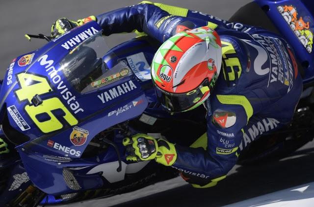 ロッシMotoGP2018 イタリアGP ポールポジション