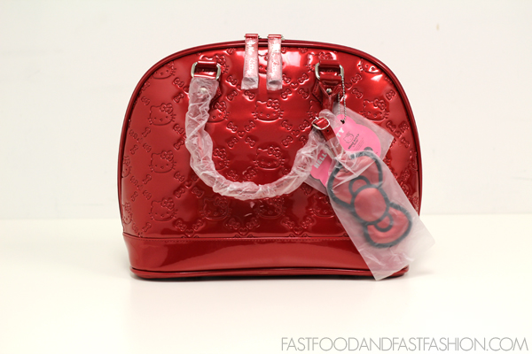 f893c6a6d1 Bag Baby   Loungefly Hello Kitty Red Patent Embossed Bag - Elle Blogs