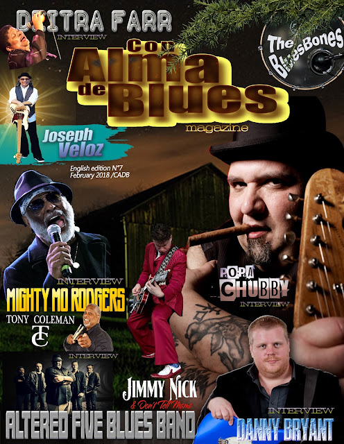 "NEW!!! ""Con Alma de Blues Magazine!! Nº7 English Edition (2018) FREE!!"