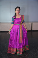 Shilpa Chakravarthy in Purple tight Ethnic Dress ~  Exclusive Celebrities Galleries 034.JPG