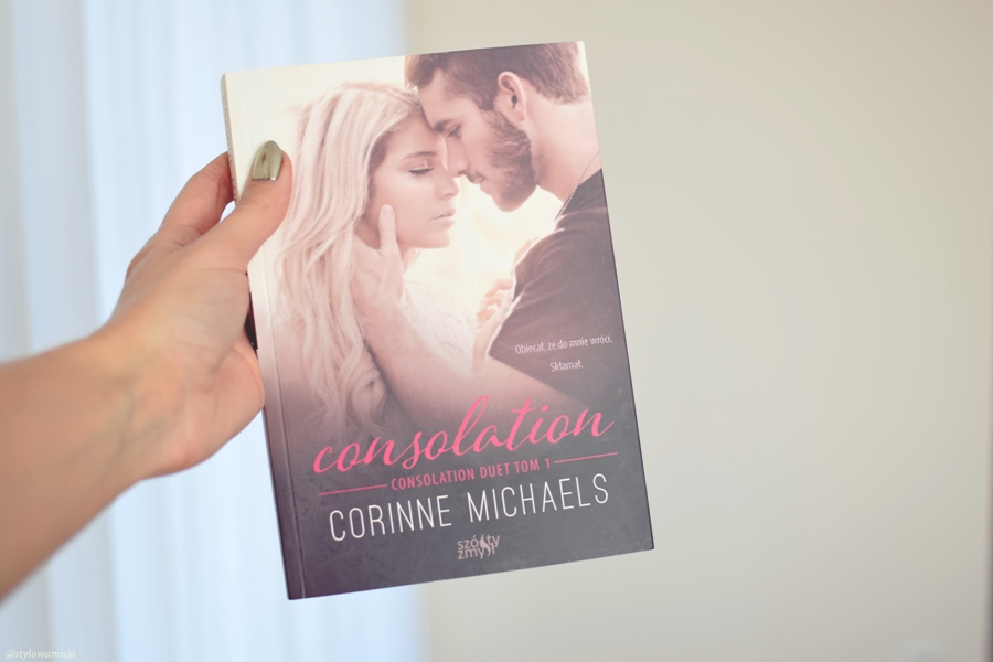 opowiadanie, książka, recenzja, Consolation, CorinneMichaels, WydawnictwoSzóstyZmysł,