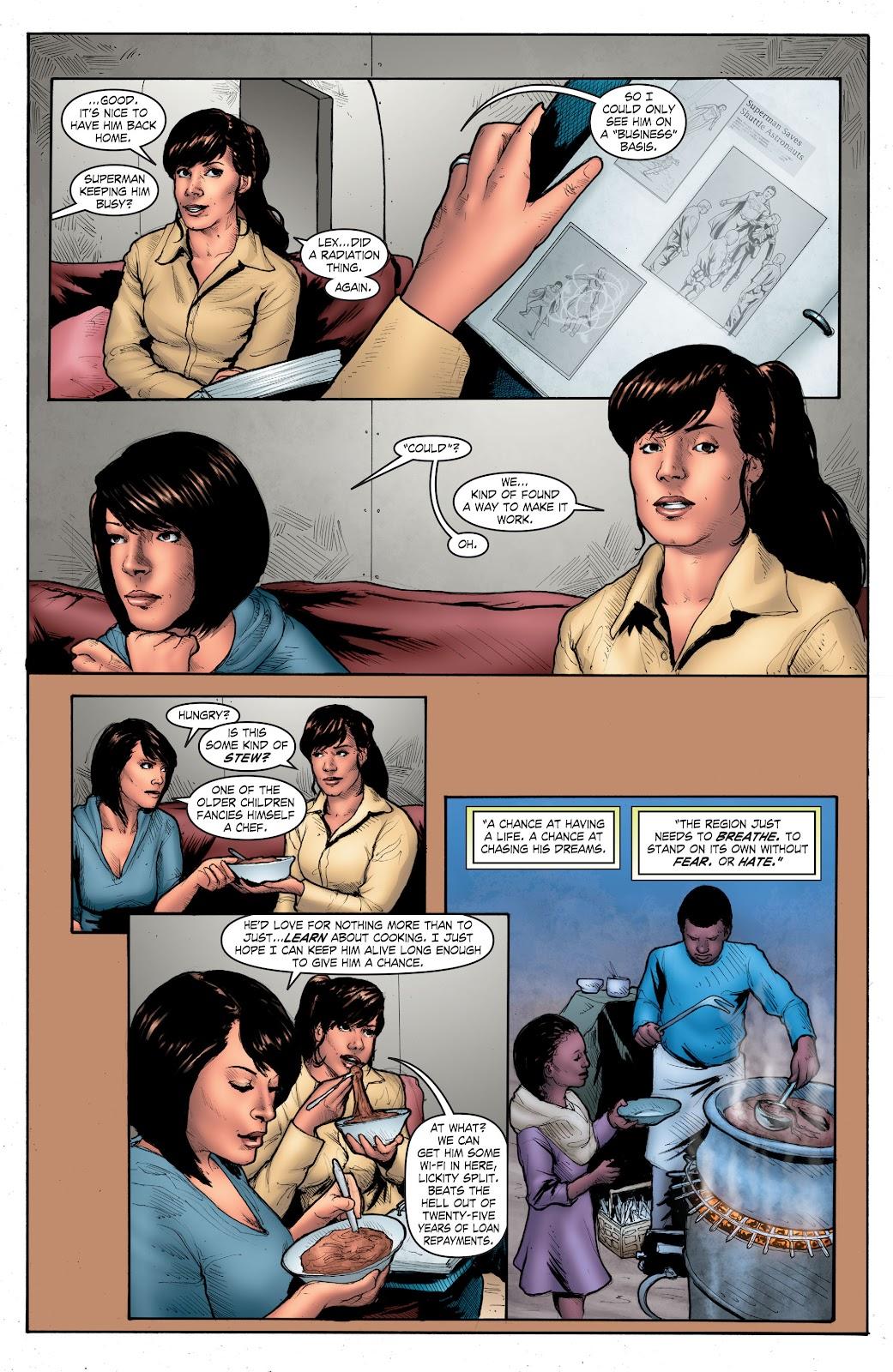 Read online Smallville Season 11 [II] comic -  Issue # TPB 4 - 124
