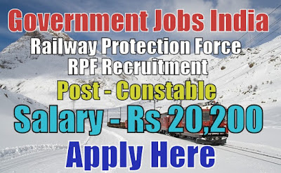 Railway Protection Force RPF Recruitment 2017