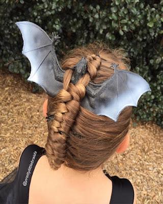 peinado halloween