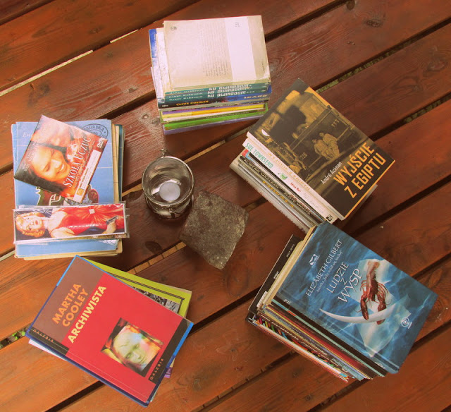 Książki za darmo, czyli o gratach z chaty słów kilka