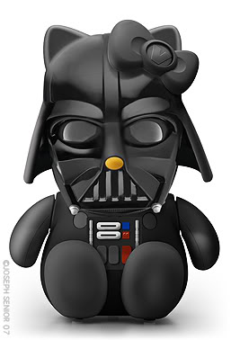 Hello Kitty con diferentes atuendos DARTH VADER