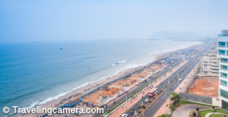 Visakhapatnam is a major tourist destination and is particularly known for its beaches. It is referred to by many nicknames such as 'The City of Destiny' and 'The Jewel of the East Coast'. It has been selected as one of the Indian cities to be developed as a smart city under the Smart Cities Mission. As per the Swachhta Sarvekshan rankings of 2017, it is the third cleanest city in India. And I have seen the cleaning action in the city which certainly deserves special mention.     Do check out - Submarine Museum (INS Kursura) - Must visit place in Vishakhapattanam (Vizag, India)