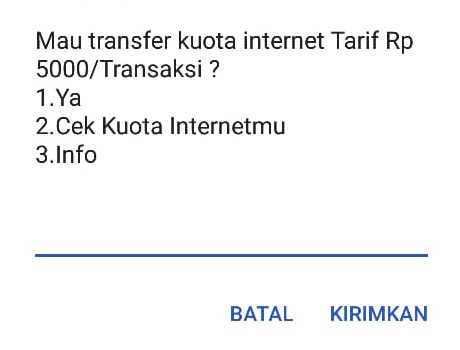 Cara Transfer/Berbagi Kuota Internet ke Sesama Pengguna Telkomsel