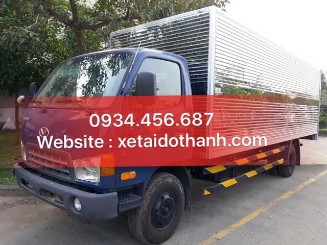 Xe tải HD120sl Đô Thành 8 tấn thùng kín