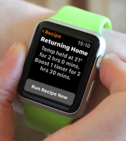 ‍Thermostat internet wifi sur apple watch