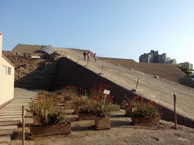 Huaca Huallamarca Lima Perú