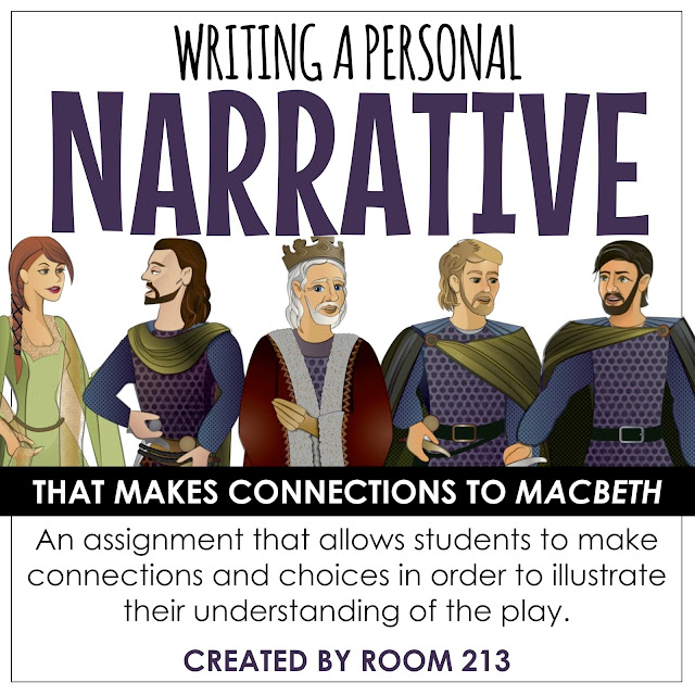 Narrative writing for Macbeth