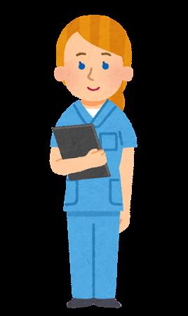 外国人看護師のイラスト(女性)
