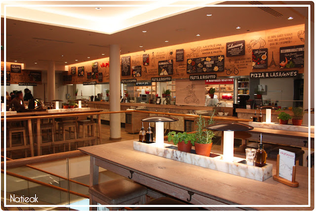 Restaurant CVapiano des CHamps-Elysées