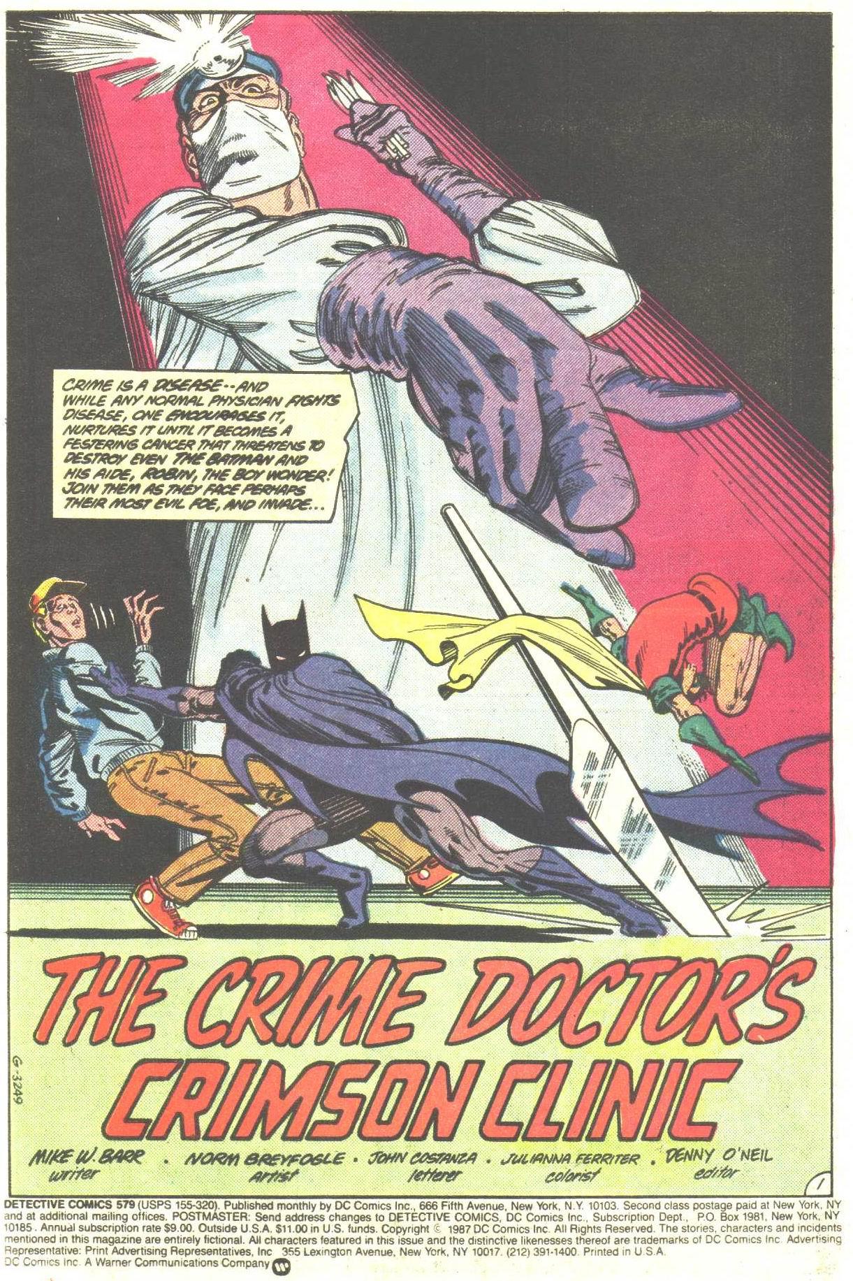 Detective Comics (1937) 579 Page 2