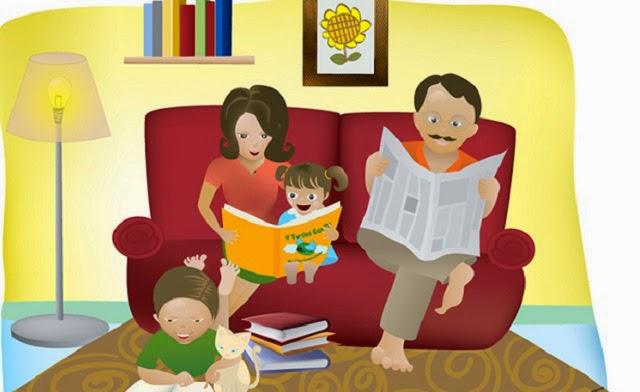 edgarosiris310: la importancia de leer en familia