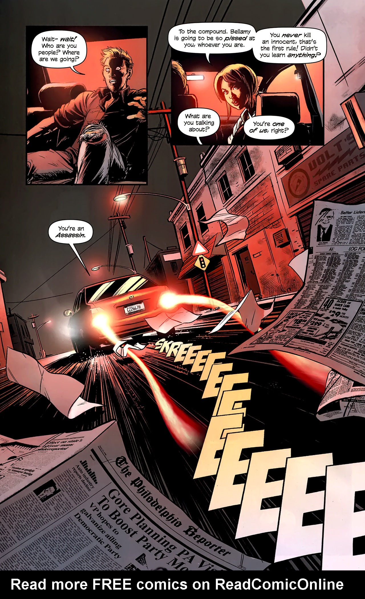 Read online Assassin's Creed: The Fall comic -  Issue #1 - 24