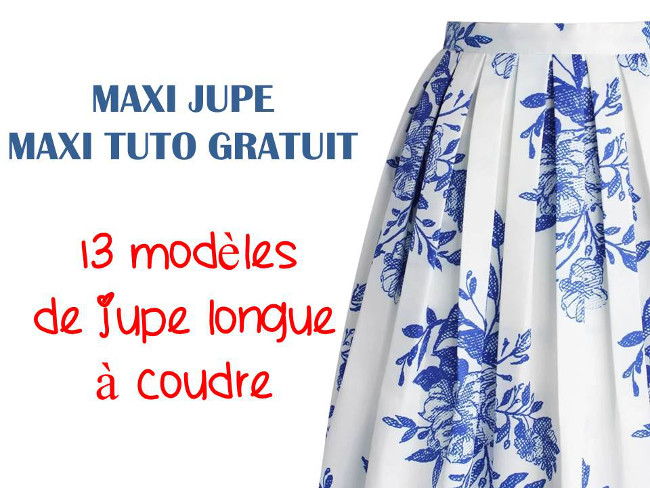 Bettinael.Passion.Couture.Made in france: MAXI JUPE