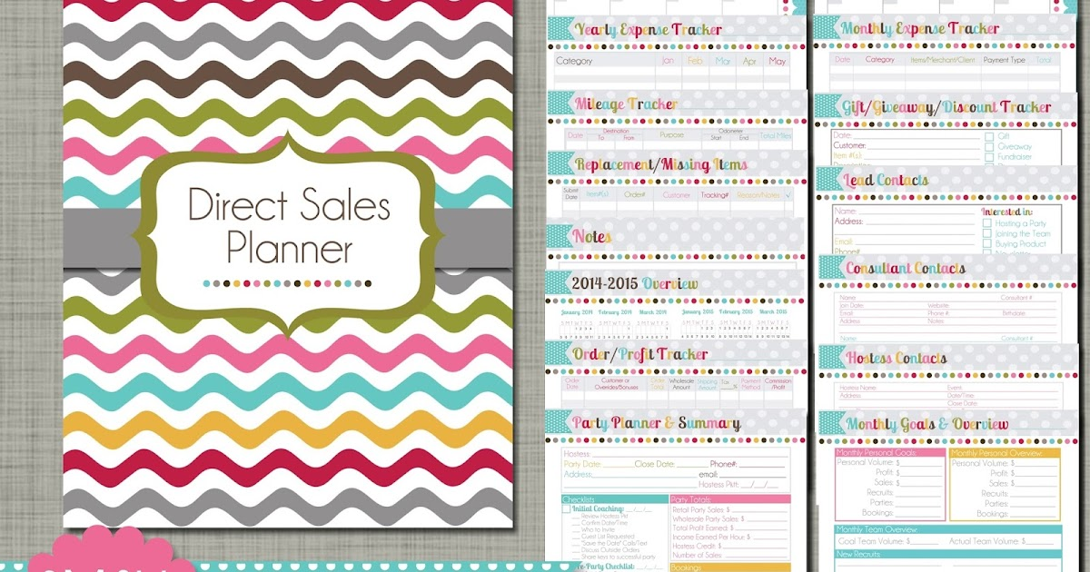graphic about Free Printable Direct Sales Planner named The Polka Dot Posie: Lead Income Planner: Directions for