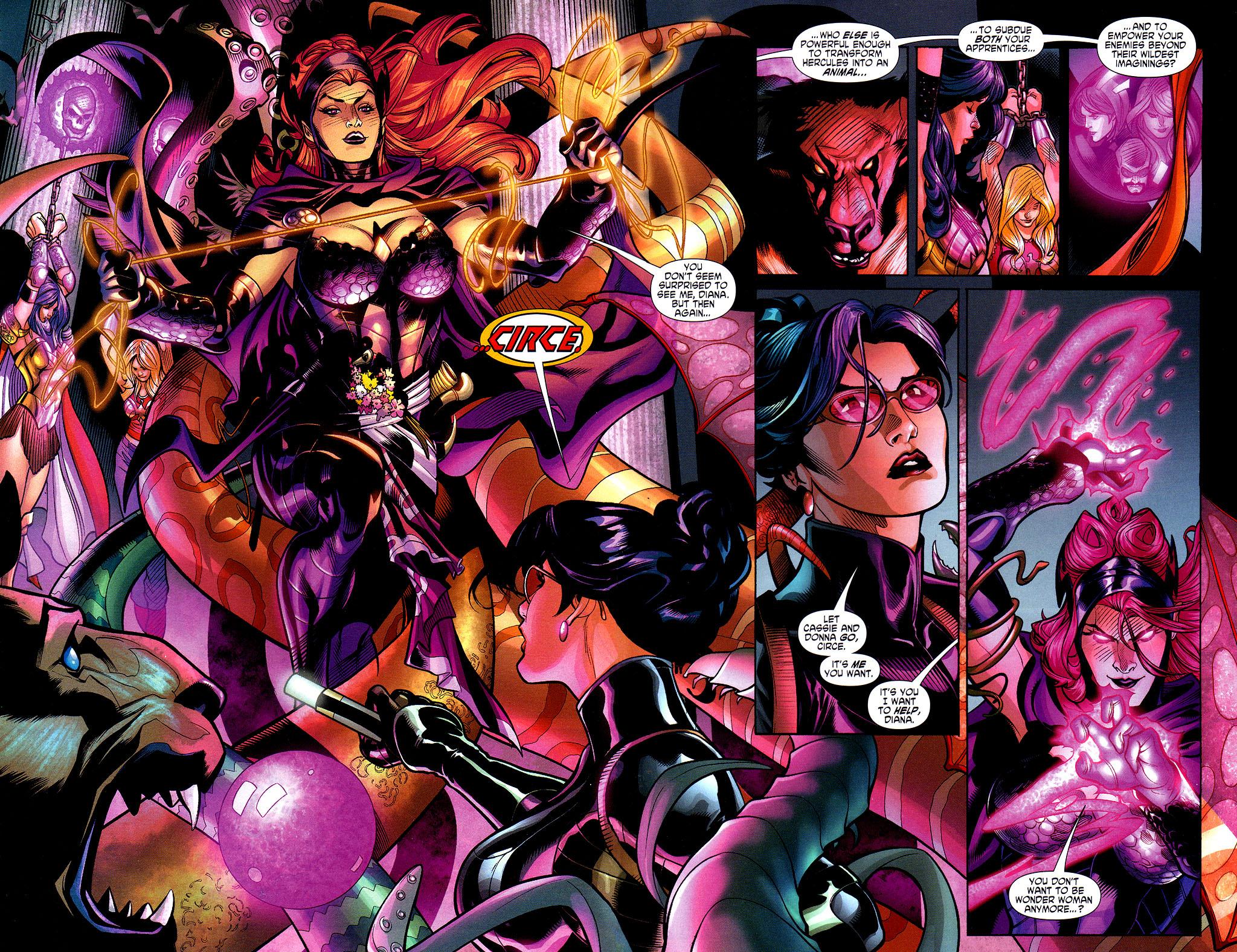 Read online Wonder Woman (2006) comic -  Issue #3 - 16