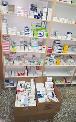 Δωρεά από το Φαρμακείο της Κας Λαμπρούσης στο Κοινωνικό Φαρμακείο του Δήμου Ηγουμενίτσας