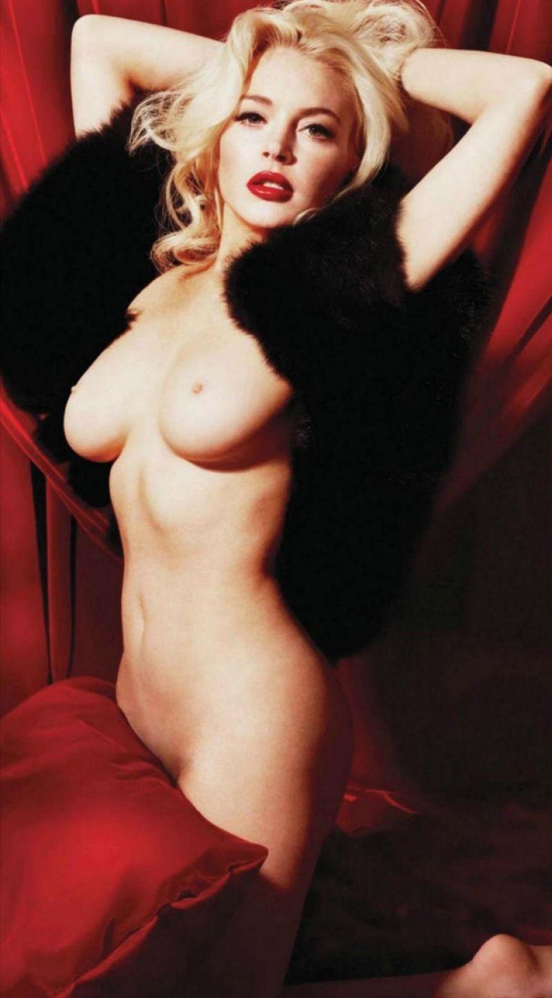 La Guarida Del Bigfoot Lindsay Lohan Playboy-9752