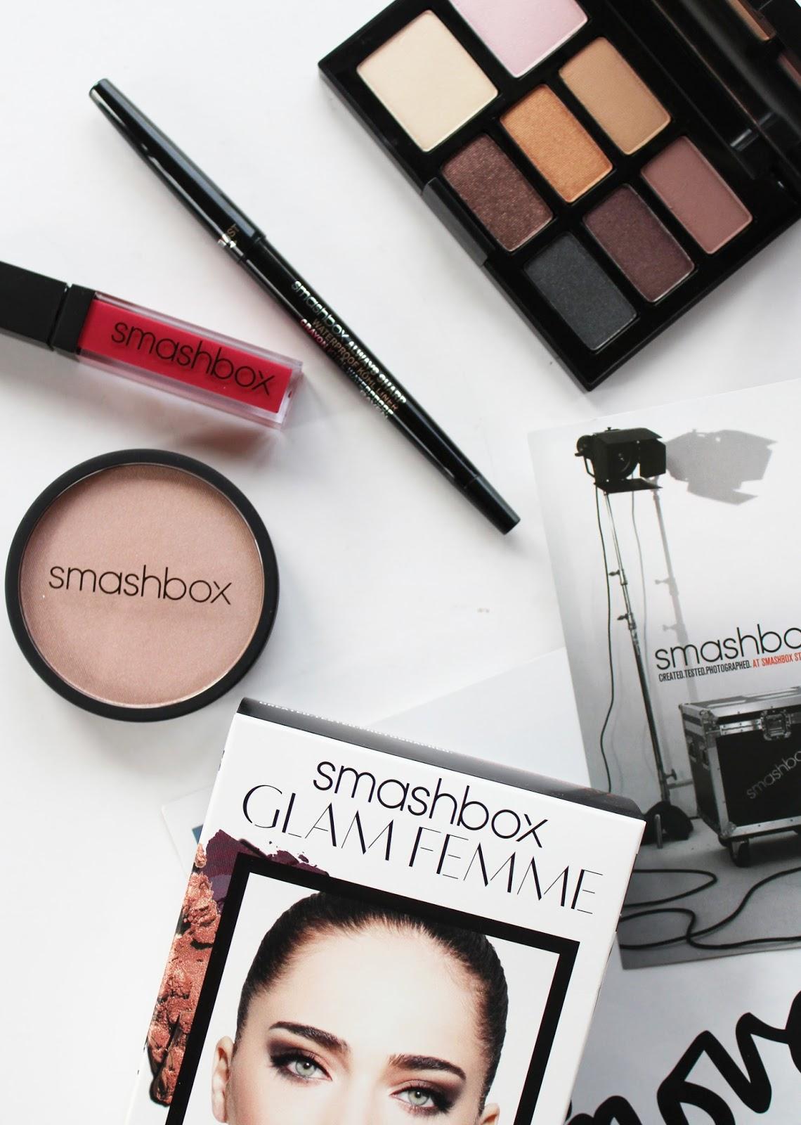 SMASHBOX   Glam Femme Makeup Set - Review + Swatches - CassandraMyee