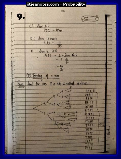 Probability notes9