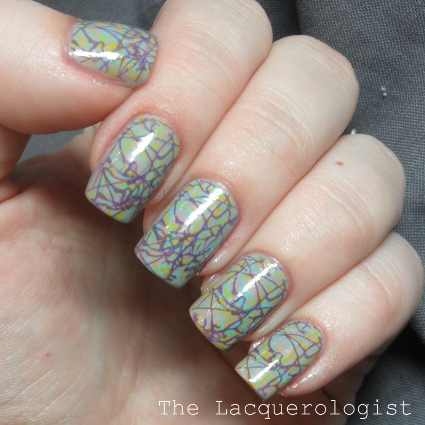 Stamping Nail Art With Bps M70 Essie Barielle And Priti Nyc
