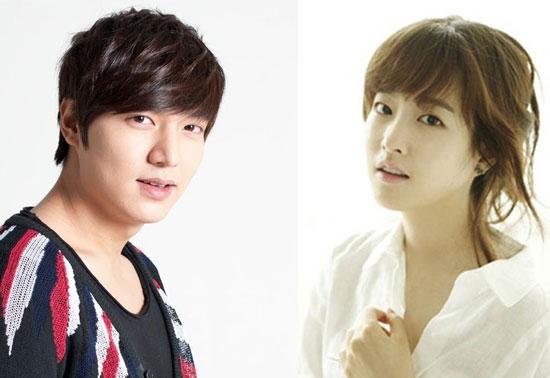 Lee Min Ho dan Park Bo Young
