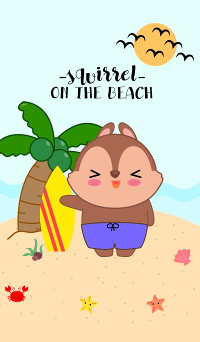 Squirrel On The Beach Theme