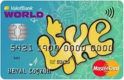 vakıfbank like card kredi kartı