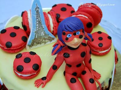prodigiosa ladybug figura fondant
