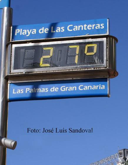 Suben temperaturas  Canarias jueves 3 de marzo