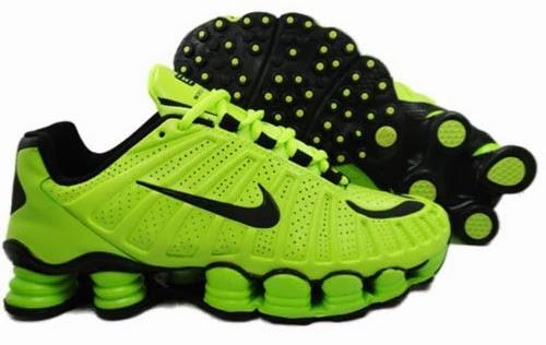 74b5518013d Tênis Nike Shox TLX 12 Molas - Verde - Edição Limitada