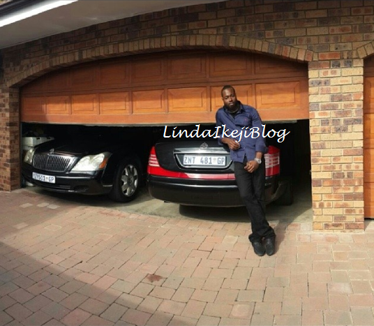 Former governor lucky igbinedion 39 s son nosa shows off for Ouvrir son garage auto