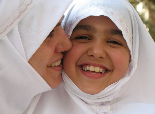 Ibu bahagia agar anak bahagia