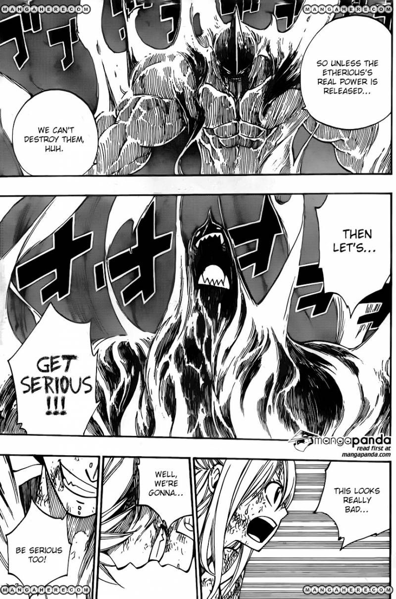 Fairy Tail Ch 395: Extreme Pain