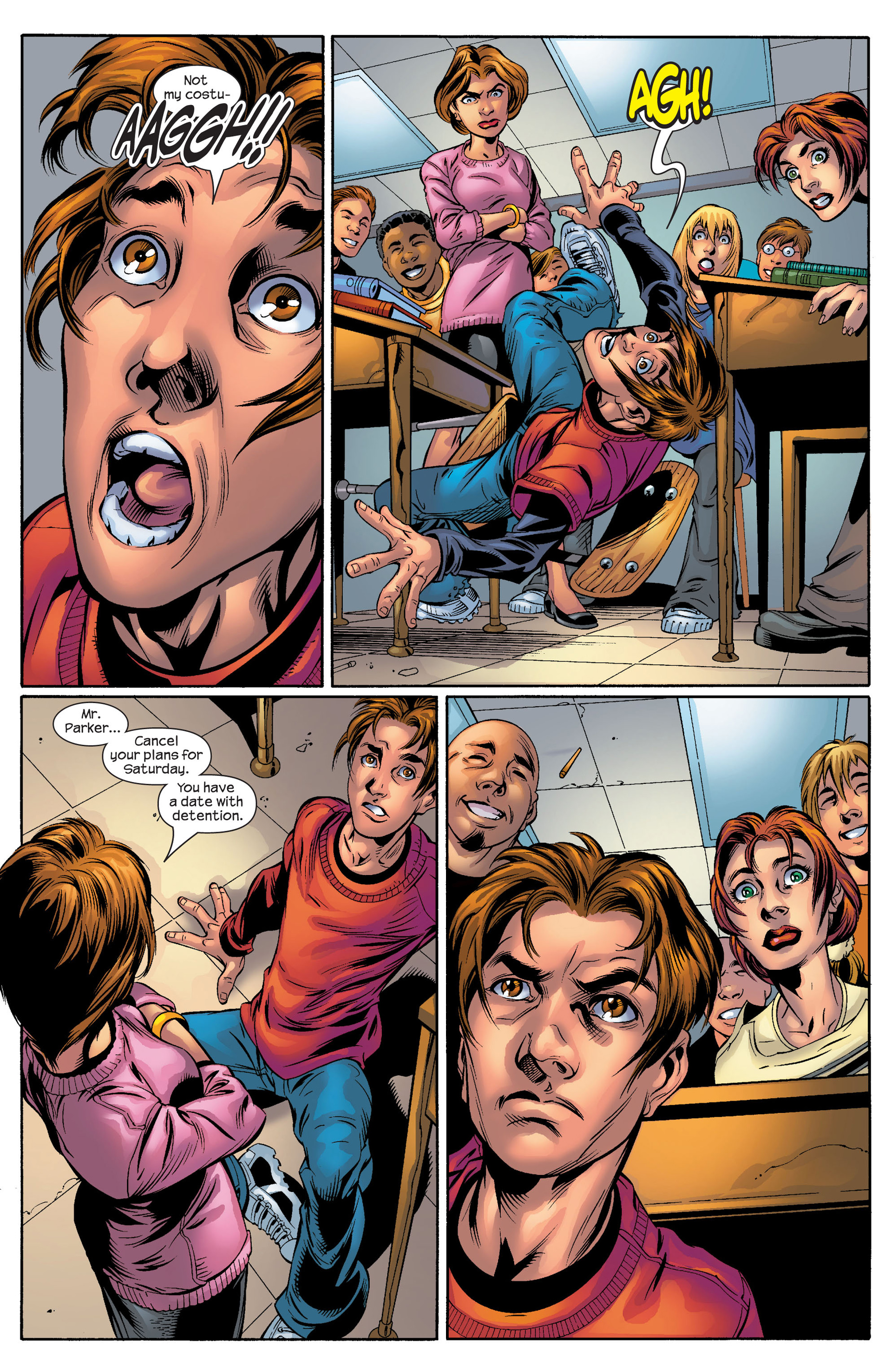 Read online Ultimate Spider-Man (2000) comic -  Issue #51 - 9