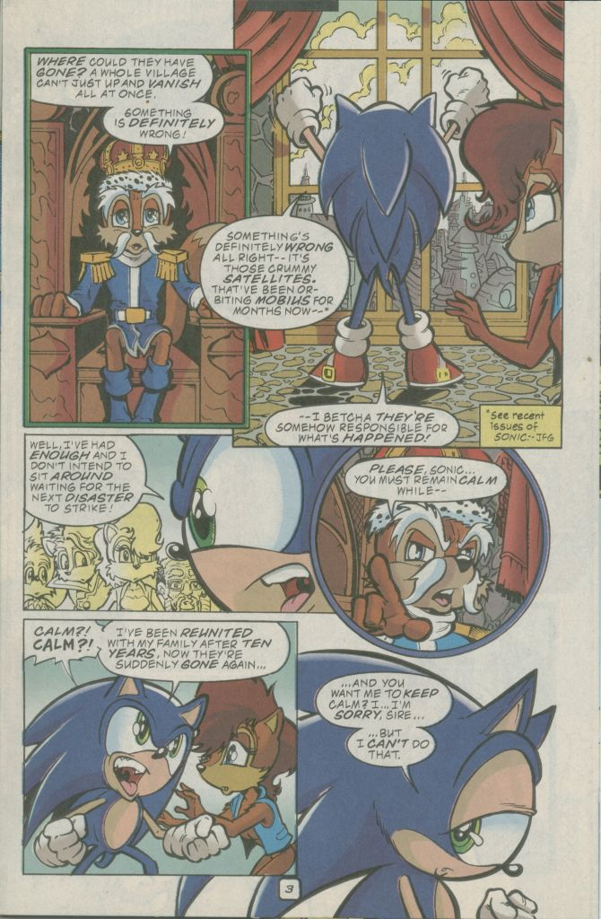 Read online Sonic The Hedgehog comic -  Issue #74 - 5